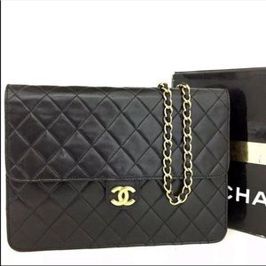 Chanel 25 CC Logo Push lock Bag